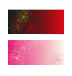 gift card background vector image
