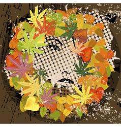 grunge retro vector image