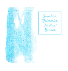 vertical seamless blue vector image vector image