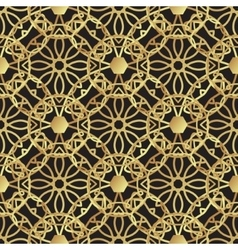Vintage luxury gold background art deco vector image vector image