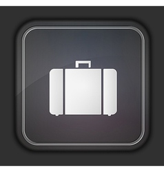 Square icon on dark background eps10 vector