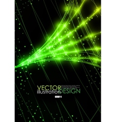 Neon technology background vector