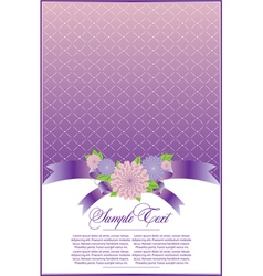 Elegant violet background vector