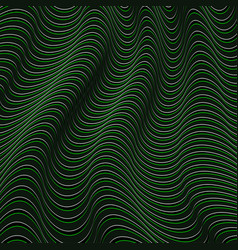 a black and green optical vector image