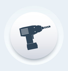 electric screwdriver icon sign vector image vector image
