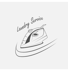 Laundry service vector