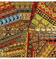 Grunge collage vector