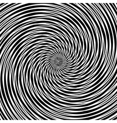 Circular vortex movement vector