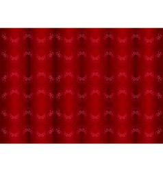 Gentle pink iridescent pattern on the wavy red ba vector