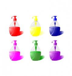 Liquid soap vector