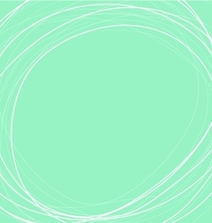 Green mint circle background vector