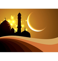 Ramadan festival background vector