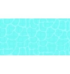 Background of blue pool water with sun reflections vector