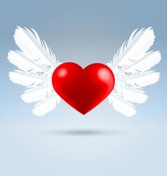 Love wings vector