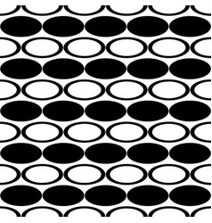 Black and white repeating abstract geometric vector