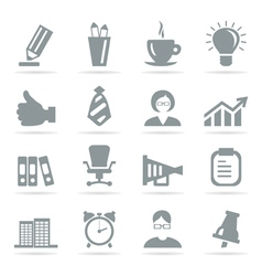 Office icons8 vector image