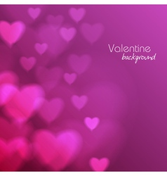 Abstract disco background valentine heart vector