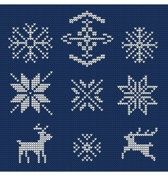 Ugly sweater Background 1 vector image