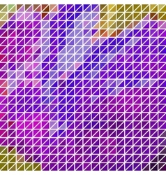 Abstract geometric purple triangle grid vector