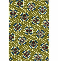 Seamless pattern in eastern style vector