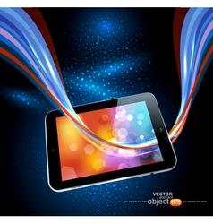 Modern tablet vector