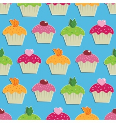 Cake wallpaper vector