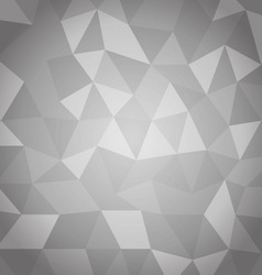 Abstract triangle with gray background vector