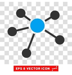 Connections eps icon vector