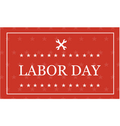 Style labor day background vector
