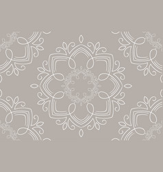 Zentangle styled geometric ornament vector