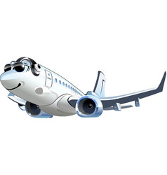 Cartoon airliner vector