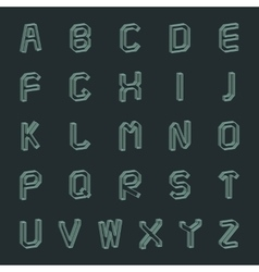 A set of letters vector