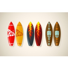 Boards vintage vector