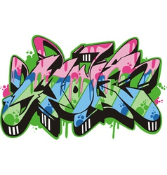 Graffito - mole vector
