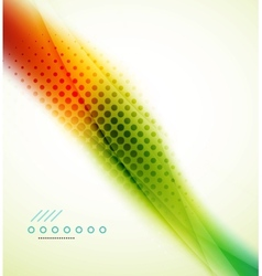 Rainbow flowing wave vector image