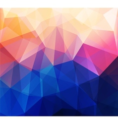 Abstract retro low poly background vector