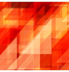 Abstraction retro painted triangles vector image vector image