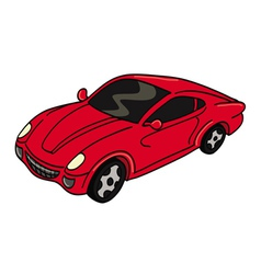 Car sports vector