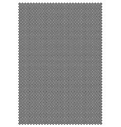 Diamond and circle block pattern vector