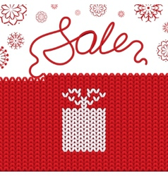 Knitting background sale vector
