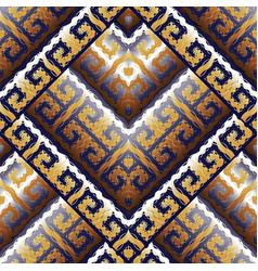 Modern greek key meanders seamless pattern vector