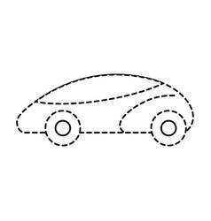 Smart car autonomous self driving technology vector