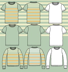 Vintage t-shirt vector image