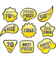 Retail icon sale vector