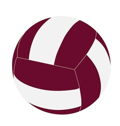 Volleyball ball vector