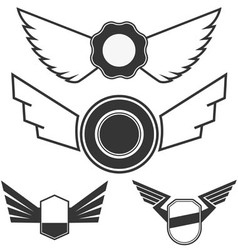 Wings set1 vector