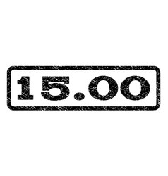 1500 watermark stamp vector
