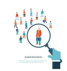 Human resource vector