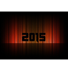 2015 abstract lines black black vector image vector image