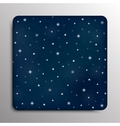 Glass frame starry sky eps 10 vector
